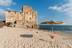 Spiagga in Toscana torre mozza