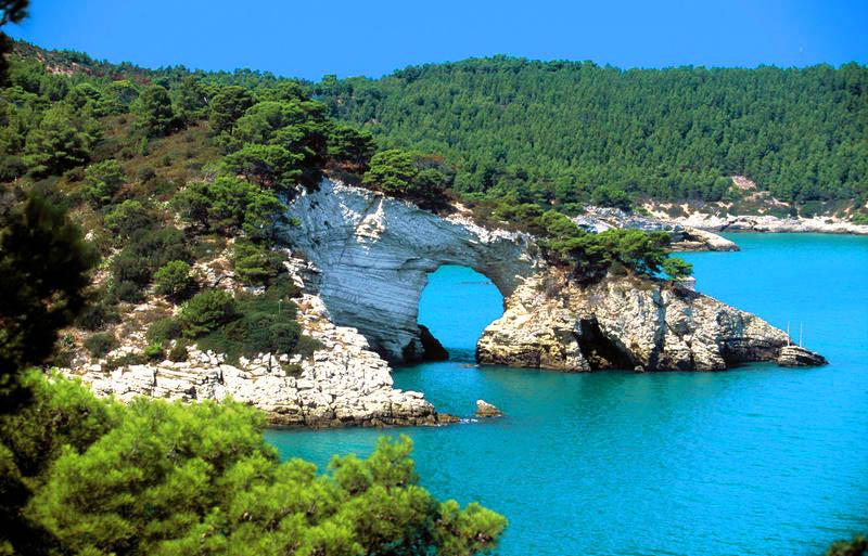 Puglia Provincia di Foggia Gargano arco san Felice | Puglia Province of Foggia Gargano Arco San Felice