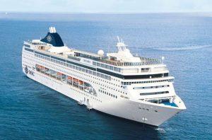 Diario di viaggio a bordo della MSC Lirica